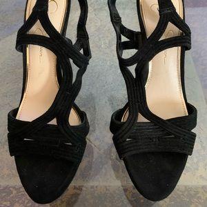 Black Heels Size 9.5